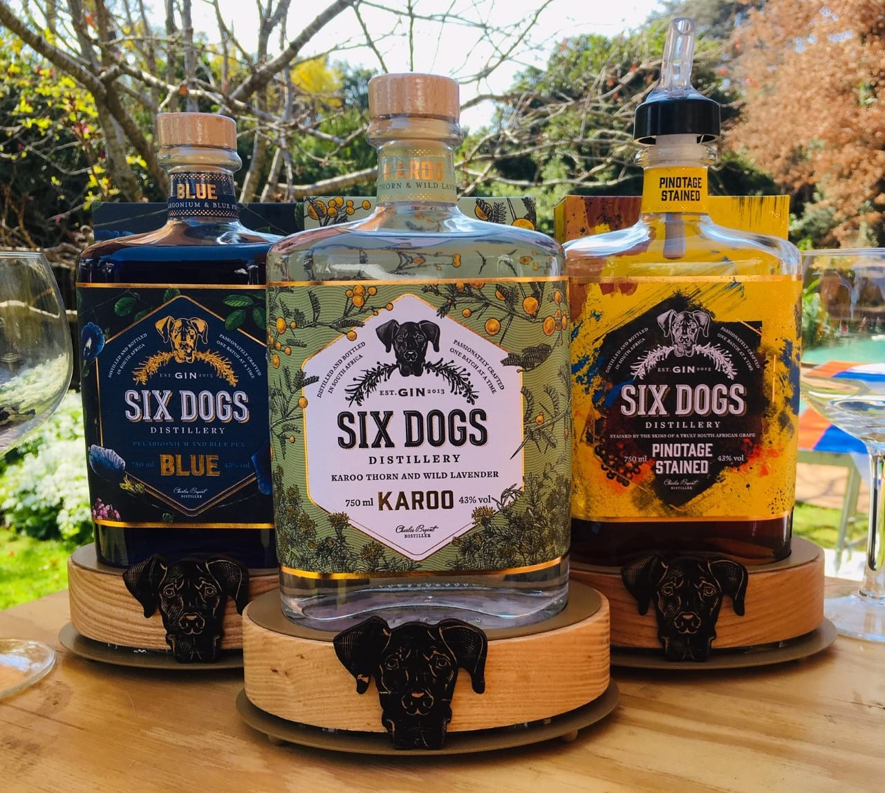 Six Dogs Gin Distillery Has Style : GetLocal Africa