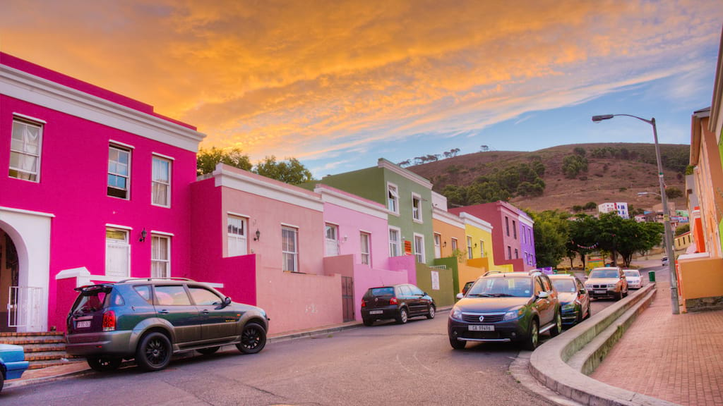 Colourful Houses of the Bo Kaap