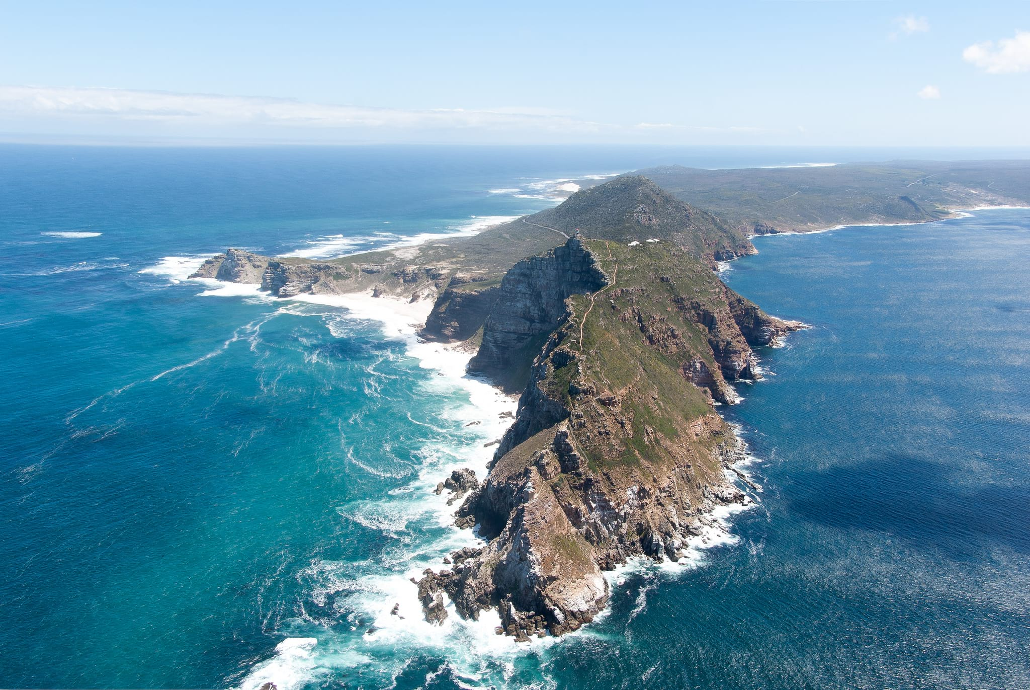 Aerial View of Cape Point