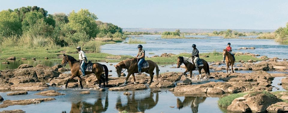 Horse Riding Tours at Victoria Falls