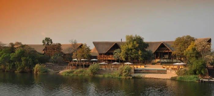 David Livingstone Hotel in Zambia