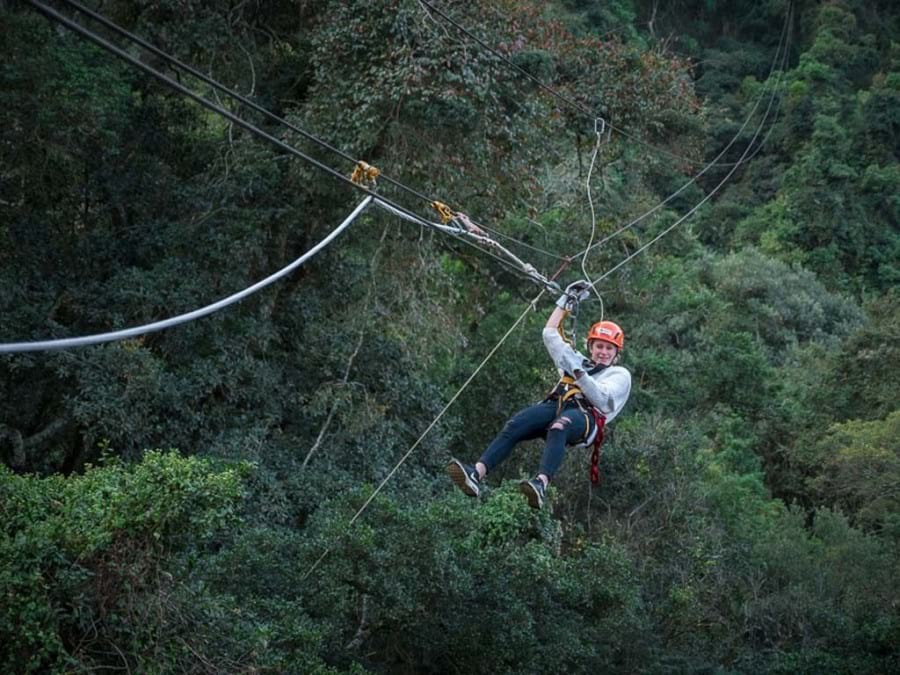 Zipline at Karkloof Canopy Tour