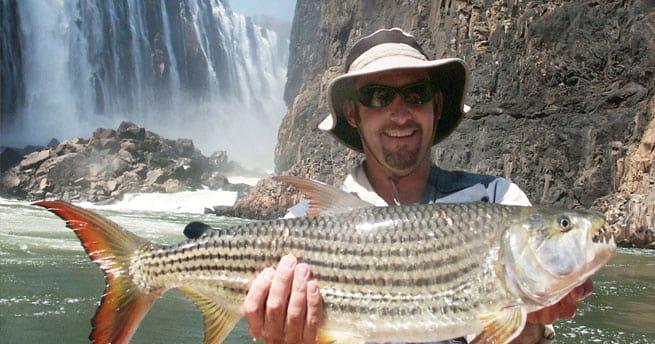 Fishing the Mighty Zambezi