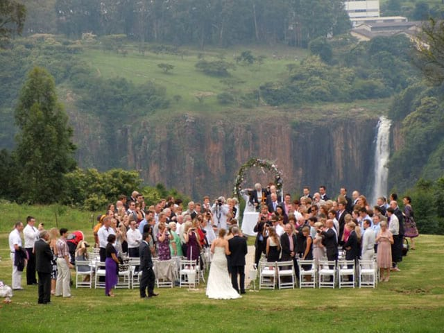 Wedding at Yellowwood Country Homestead